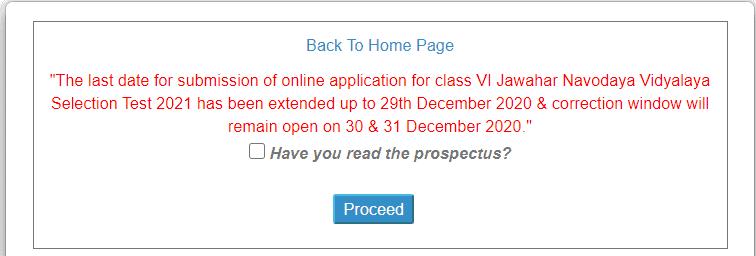 JNVS-Class-6th-Admission-form
